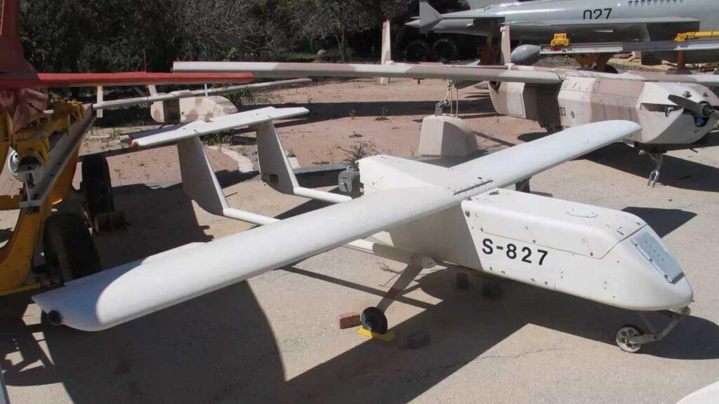 il drone israeliano mastiff