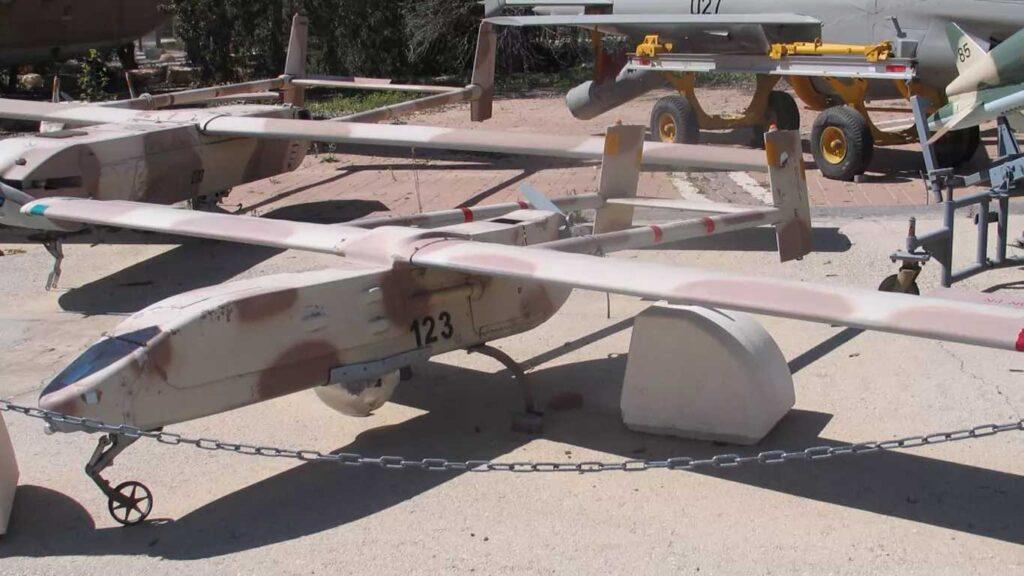 il drone israeliano scout
