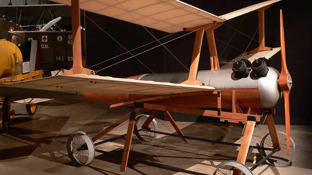 un kettering bug ristrutturato conservato in museo