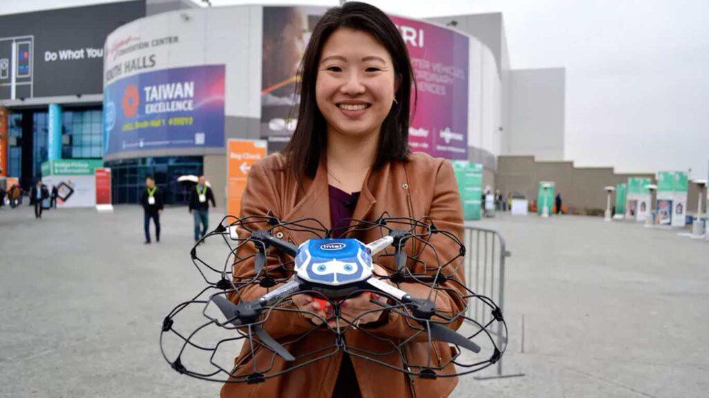 il drone shooting star di intel