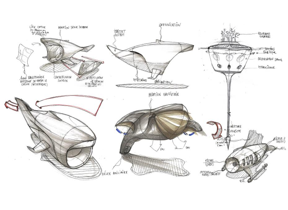 droni subacquei ROV classe V prototipi