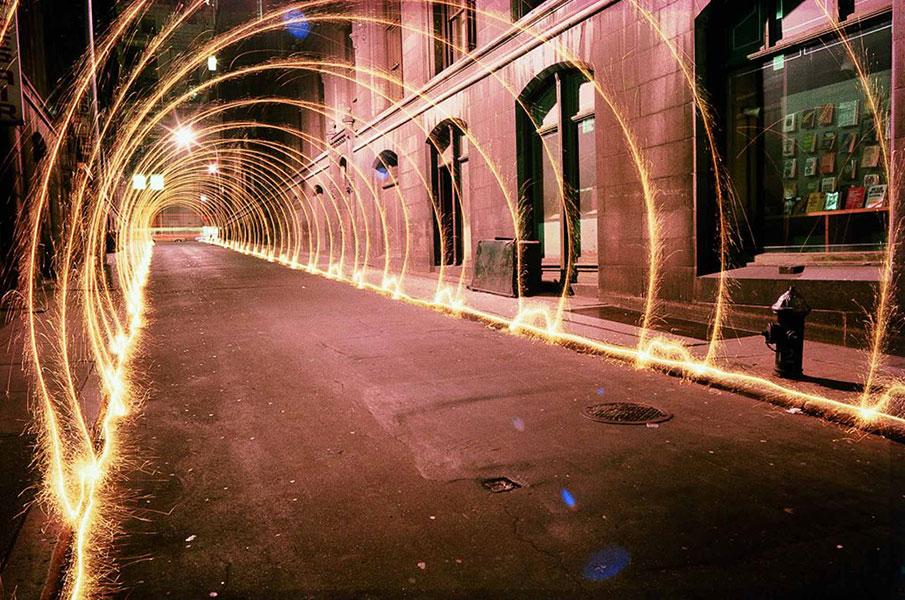 eric staller light tunnel